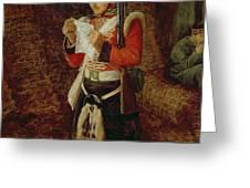 News From Home Greeting Card by Sir John Everett Millais