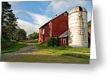 Newtown Barn Greeting Card by Bill  Wakeley