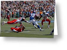 NFL Pro Bowl Greeting Card by Mountain Dreams