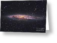 Ngc 4945, Starburst Galaxy In Centaurus Greeting Card by Robert Gendler