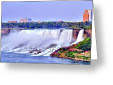 Niagara Falls Greeting Card by Kathleen Struckle