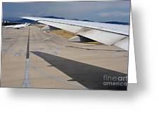 Nice Internationat Airport Greeting Card by Sami Sarkis