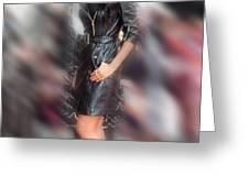 Nicole Scherzinger 24 Greeting Card by Jez C Self