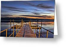 Night And Day Greeting Card by Brian Young