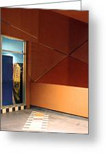 Night Interior With Window Greeting Card by Ben and Raisa Gertsberg