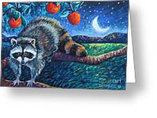 Night Visitor Greeting Card by Harriet Peck Taylor