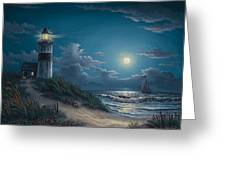 Night Watch Greeting Card by Kyle Wood