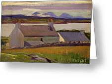 Nightfall  Iona Greeting Card by Francis Campbell Boileau Cadell