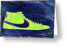 Nike Blazer 3 Greeting Card by Alfie Borg