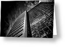 No 123 Front St W Toronto Canada Greeting Card by Brian Carson