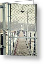 No Admittance Greeting Card by Shutter Happens Photography