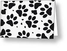 No229 My 101 Dalmatians minimal movie poster Greeting Card by Chungkong Art