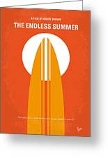No274 My The Endless Summer Minimal Movie Poster Greeting Card by Chungkong Art