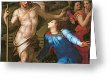 Noli Me Tangere Greeting Card by Agnolo Bronzino