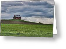North 40 Greeting Card by Jeff Folger