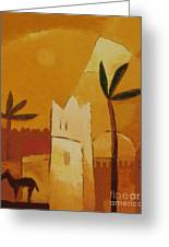 North Africa Greeting Card by Lutz Baar