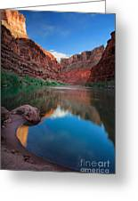 North Canyon Number 1 Greeting Card by Inge Johnsson