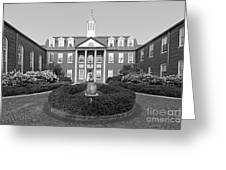 North Park College Nyvall Hall Greeting Card by University Icons
