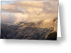 North Valley Panoramic Greeting Card by Bill Gallagher