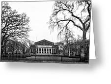 Northrop Auditorium At The University Of Minnesota Greeting Card by Tom Gort