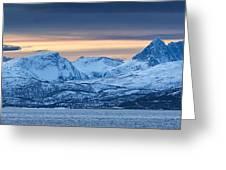 Norwegian Coast Greeting Card by Wade Aiken