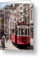 Nostalgic Tram 01 Greeting Card by Rick Piper Photography