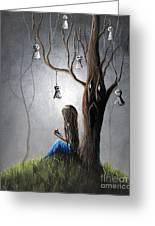 Now She Won't Be Alone II By Shawna Erback Greeting Card by Shawna Erback