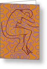 Nude 13 Greeting Card by Patrick J Murphy