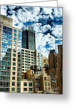 Nyc Urban Hdr Greeting Card by Amy Cicconi