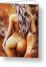 Nymph 02 Greeting Card by Emerico Imre Toth