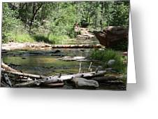 Oak Creek Canyon 5 Greeting Card by Grant Washburn