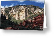 Oak Creek Canyon Greeting Card by John Rizzuto