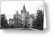 Oberlin College Peters Hall Greeting Card by University Icons