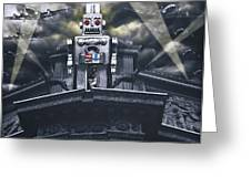 Obey Resistance Is Futile Greeting Card by Larry Butterworth