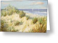 Ocean Dunes Greeting Card by Sarah Parks