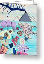Ocean Parade Greeting Card by Susan Claire