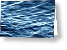 Ocean Ripples Greeting Card by Artist and Photographer Laura Wrede