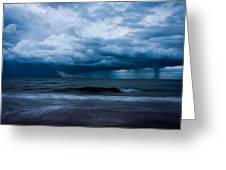 Ocean Storm Greeting Card by Matt Dobson