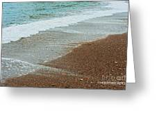 Ocean Wave Color Palette Greeting Card by Artist and Photographer Laura Wrede