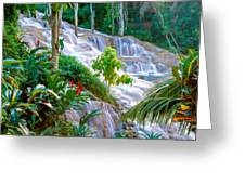 Ocho Rios Jamaica Greeting Card by Cliff Wassmann