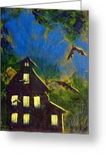 October One Greeting Card by Kenny Henson