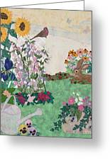 Ode To Henry And Joys Of Nature Greeting Card by Denise Hoag