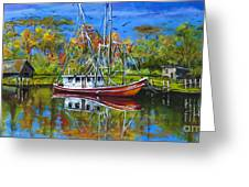 Off Season Greeting Card by Dianne Parks