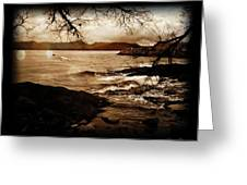 Off The Shore Greeting Card by Sheena Pike