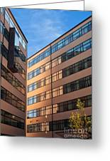 Office Building Malmo Greeting Card by Antony McAulay