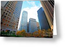 Office Space For Rent In Downtown San Francisco Greeting Card by Artist and Photographer Laura Wrede