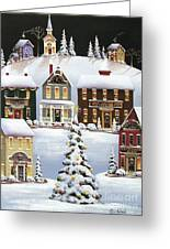 Oh Christmas Tree Greeting Card by Catherine Holman