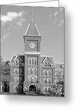 Ohio State University Hall Greeting Card by University Icons