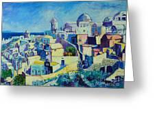 OIA Greeting Card by Ana Maria Edulescu