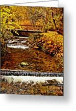 Okanagan Autumn Greeting Card by Kathy Bassett